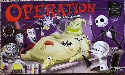 THE NIGHTMARE BEFORE CHRISTMAS OOGIE BOOGIE OPERATION GAME 100% - Nightmare Before Christmas Operation