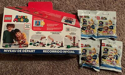 LEGO Super Mario Adventures Mario Starter Course 71360 - NIB - w/ 4 Blind Bags