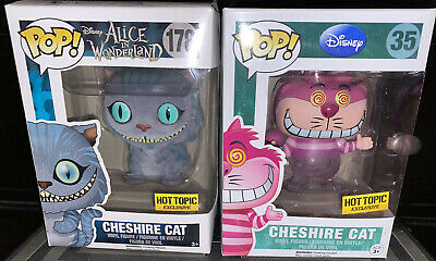 Funko Cheshire Cat Disappearing And Flocked Hot Topic