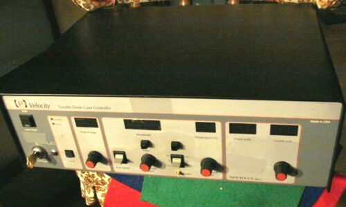 Newport/New Focus Model 6300  Velocity Laser Diode Controller (Key Included)