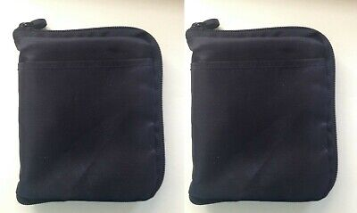 x2 Travel Case Bag Pouch for Bayer Contour or Breeze 2 Gluco