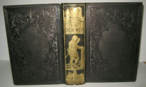 1856 OLD WEST_GOLD RUSH_INDIAN WAR_PIONEER LIFE_LDS Rocky Mt MASSACRES co @ $750