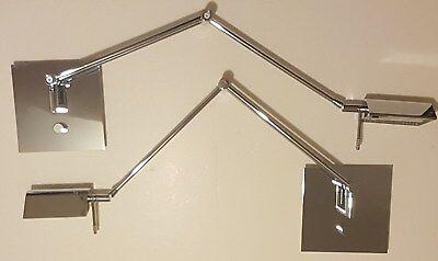 Holtkoetter Swing-Arm Sconce (One) Bernie Series 8191 CH Chrome Holtkotter - Holtkotter Brass Sconce