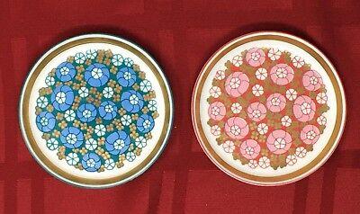 Porsgrund - Norway, retro 50's - 60's Scandinavian Modern China Plates