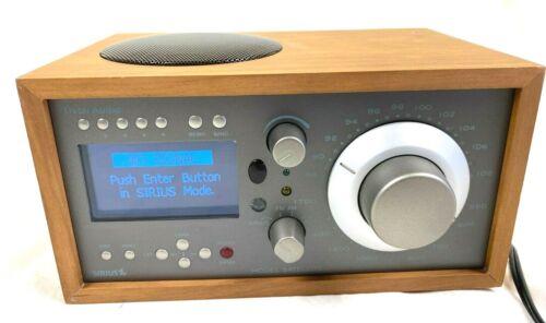 Tivoli Audio Model Satellite Sirius AM FM Table Radio Stereo Working Pre-Owned