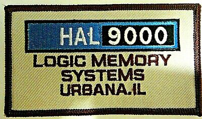 2001: A Space Odyssey, HAL 9000 Logic Memory Systems Embroidered Patch -new
