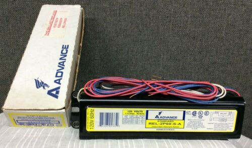 Advance Instant Start Electronic Ballast~ Standard REL-2P60-S-A~ F96T12 Slimline
