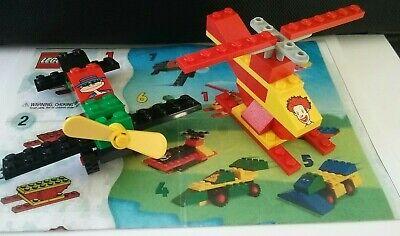 Lego Happy Meal Sets 2032 Ronald McDonald 1841 Hamburglar Plane Complete 1999