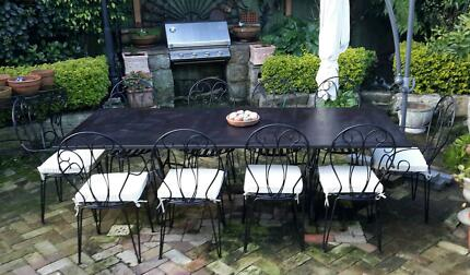 Outdoor dining set Lane Cove Lane Cove Area Preview