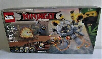 Lego The Ninjago Movie - Flying Jelly Sub -  # 70610 - 341 Pieces - New sealed