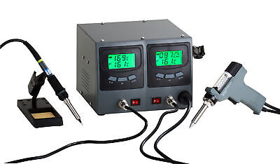Soldering Desoldering Digital Temperature Controlled Rework Station Zd987