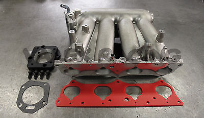 Honda Rbc Pre Modified Intake Manifold With Skunk2 B To K Throttle Body Adapter