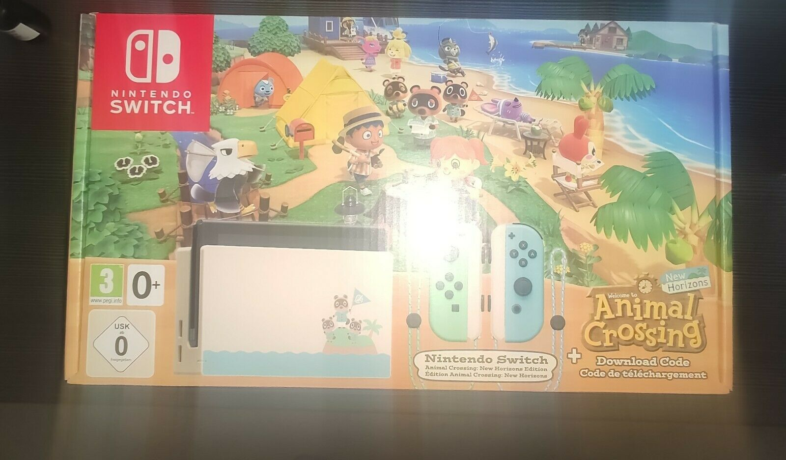 Nintendo Switch Animal Crossing New Horizons Edition Limited Edition NEU&OVP