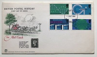 1969 First Day Cover - Stuart British postal history