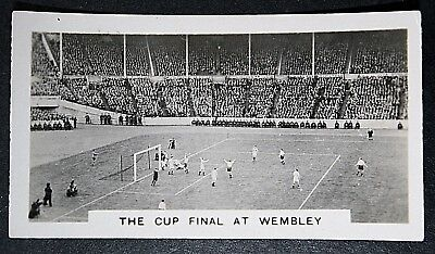 FA Cup Final  Wembley  Mid 1920's  Original  Vintage  Photo Card