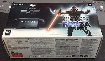 CONSOLE PSP SONY PLAYSTATION PORTABLE STAR WARS BUNDLE PSP-2004 PB NUOVA na sprzedaż  Wysyłka do Poland