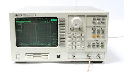 Hp 35665a 2ch Dc-102.4 Khz Fft Dynamic Signal Analyzer 1c2 1d2 1d4