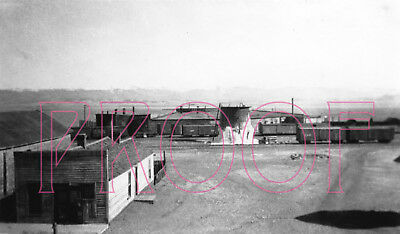 Colorado & Southern (C&S) Como Roundhouse in 1927 - 8x10 Photo