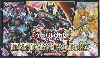 LEGENDARY HERO DECKS FACTORY-SEALED BOX, IN STOCK, SHIPS NOW, GET YOURS 1ST!