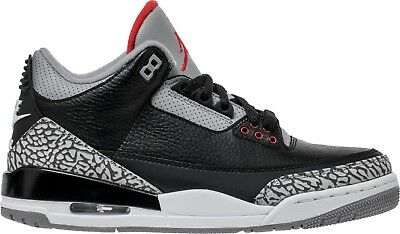 Nike Air Jordan 3 Black Cement Retro III OG 854262 001