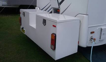 Alloy Toolbox to suit Fiat Ducato Chassis/Birdsville Motorhome