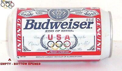 1996 OLYMPIC GAMES TEAM USA BUD SPORT BUDWEISER BEER CAN ATLANTA,GEORGIA MO GOLD