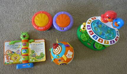 Collection of Fisher- Price and Vtech Toys - Perfect Condition