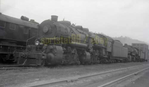 1953 NW Norfolk & Western 2-6-6-2 Locomotive #1476 - Vintage Railroad Negative