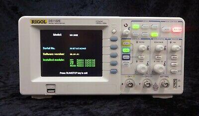 Rigol Ds1102e Digital Oscilloscope 2 Channel 100 Mhz 1 Gss