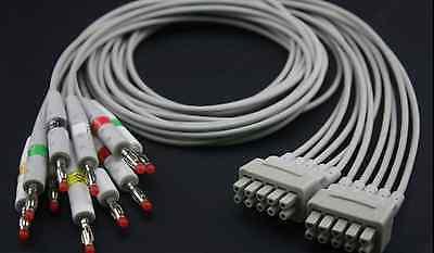 1pcs Ge Marquette Mac-1200 Ekg Leadwire Aha Oem 38401817