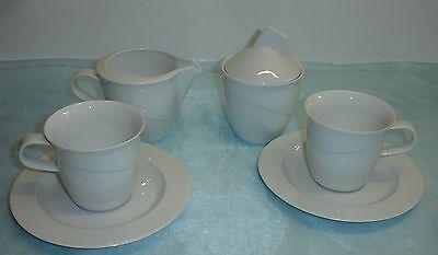 Rosenthal - Avenue weiss weiß uni - Tasse, Milch, Zucker zur Auswahl ()