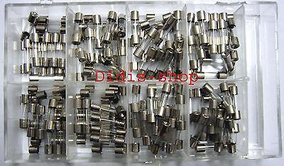Feinsicherungen 160 Stk Glassicherungen Set NEU 20mm Sicherung Sicherungen Glas