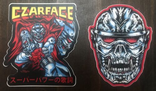 CZARFACE stickers Wu-Tang Inspectah Deck 7L & Esoteric Vinyl Decal hat shirt cd
