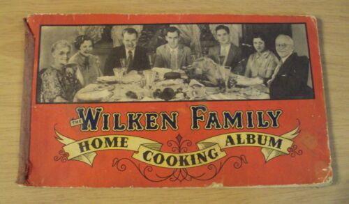 "Post Prohibition 1935 Family Made WHISKEY~""The WILKEN FAMILY"" Cooking Album~"