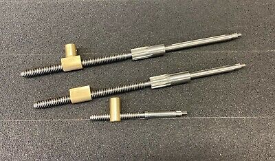 South Bend 9 Light 10 Lathes - Cross Compound Feed Screws Nuts - Bundle