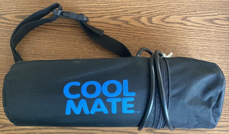 Cool Mate Pump Mister - Black With Tubing and Ajustable Strap. New