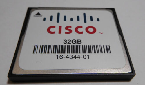 Genuine 32 GB CF Compact Flash Card for Cisco ISR 4451-X Router ISR4451-X/K9