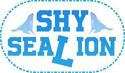 Shy Sea Lion
