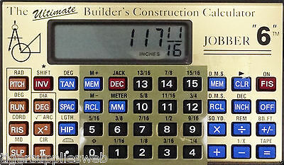 Jobber 6 Advanced Trigonometric Construction Calculator Job6