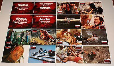 Piranha German horror lobby card set 16 Barbara Steele