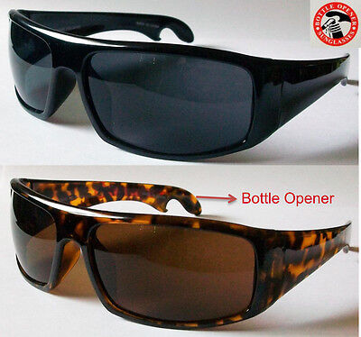 Wholesale Lot 12 pairs Hot New Man's Sunglasses with Bottle Opener  on Rummage