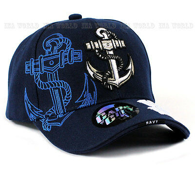 U.S. NAVY hat Anchor Military NAVY Official Licensed Baseball cap - Navy Blue