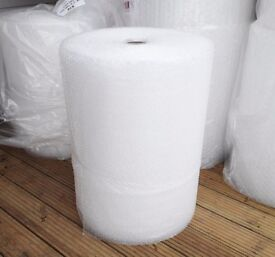 Large rolls of bubble wrap, 50 or 100m length / 0.75m across