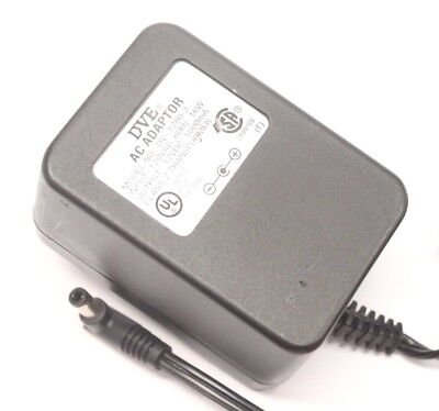 Dve Power Supply - DVE DV-1280-3 AC Power Supply Adapter Charger Output 12V DC 1000mA Transformer