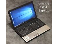 Compaq CQ61 laptop REFURBISHED + 3MONTHS WARRANTY