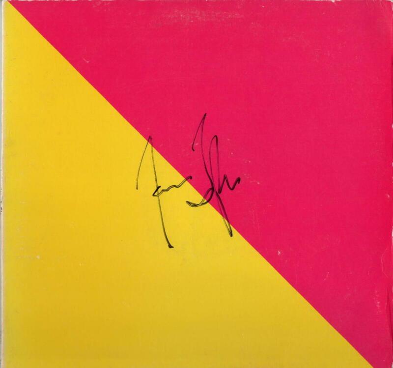 JAMES TAYLOR SIGNED AUTOGRAPH - FLAG RECORD, ALBUM, VINYL - LEGEND, I SEE FIRE 2