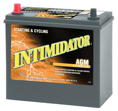 Deka East Penn 9A51P Intimidator AGM Valve Regulated Battery Made In USA Prius East Penn Battery