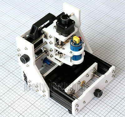 Mini Milling Machine Cnclaser Diy Desktop 3 Axis Mill Engraving Wood Pcb Rubber