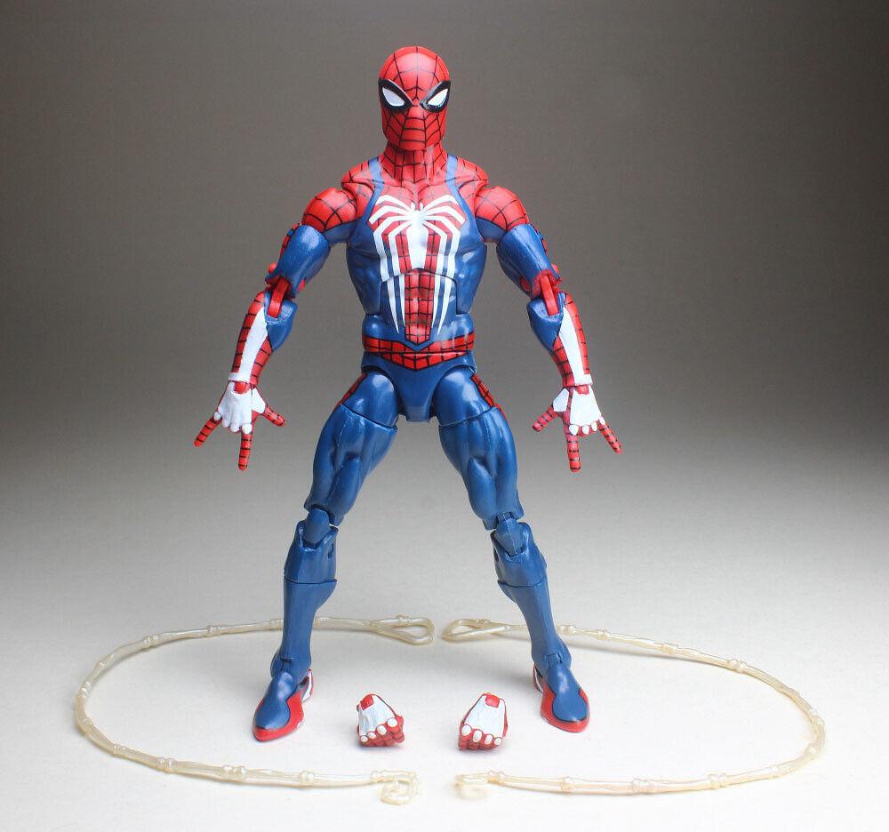 "Marvel Legends 6/"" Inch Thanos BAF Wave Iron Spider Man Avengers Loose Complete"