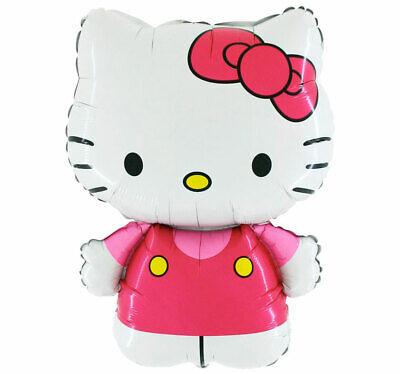 Hello Kitty Figur xl Folienballon Katze Geburtstag Helium Ballon Party Deko